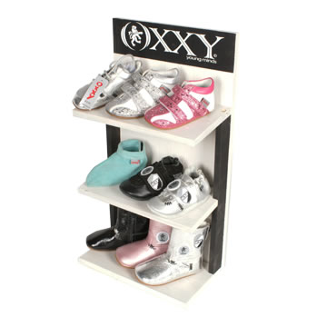 WN155 - Oxxy Houten Kinderschoenen Display